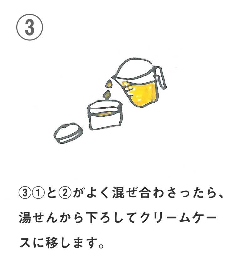 保湿リップクリームの作り方3