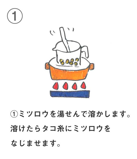 アロマキャンドルの作り方1