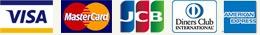 VISA/Master/JCB/Diners/AMEX