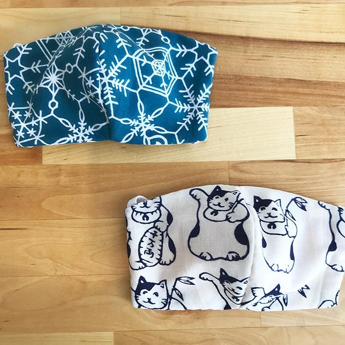 手ぬぐい マスク の 作り方