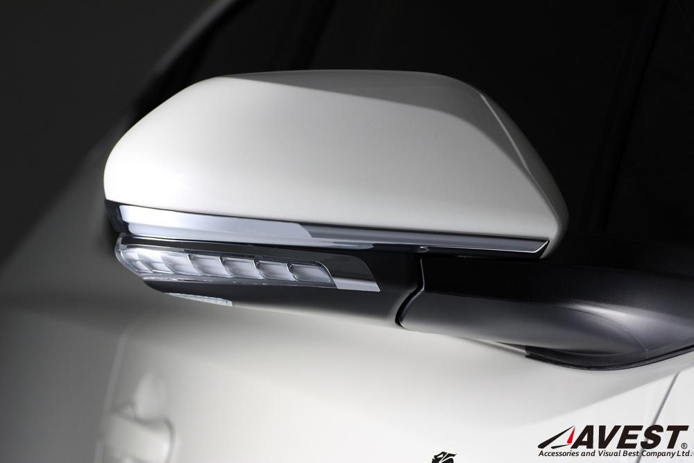 TOYOTA/C-HR/NGX50/ZYX10/ドア/ミラー/ガーニッシュ/トヨタ/外装/メッキ/パーツ