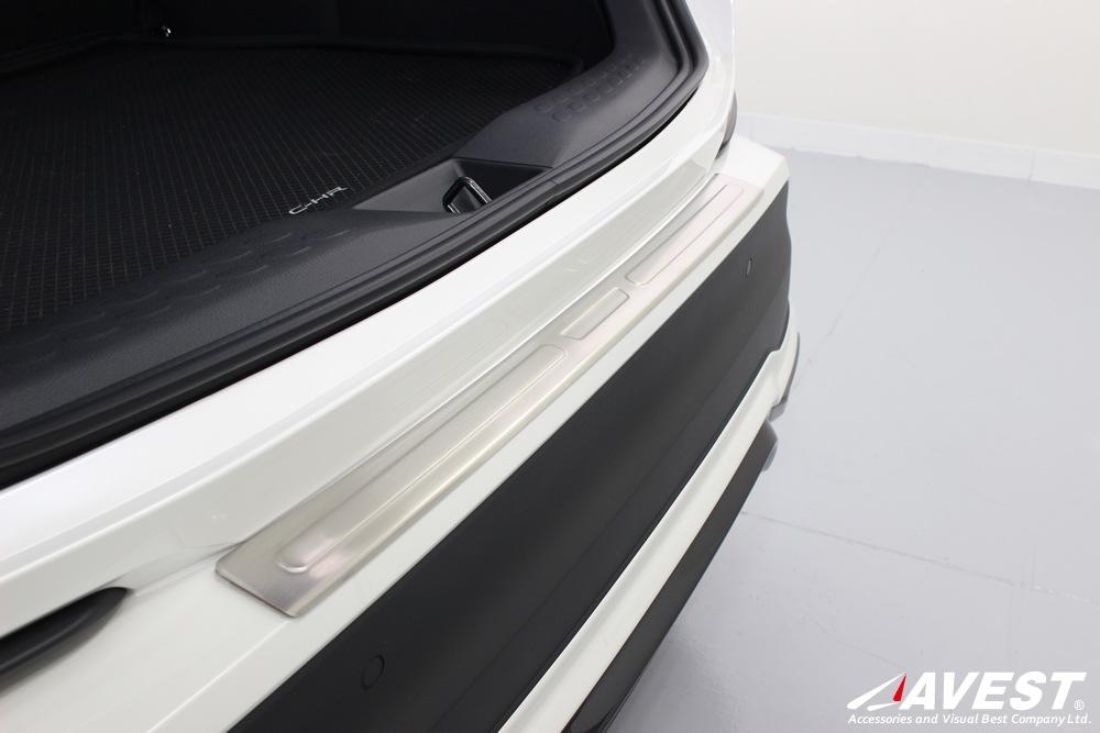 TOYOTA/C-HR/NGX50/ZYX10/リア/バンパー/ステップガード/トヨタ/外装/メッキ/パーツ
