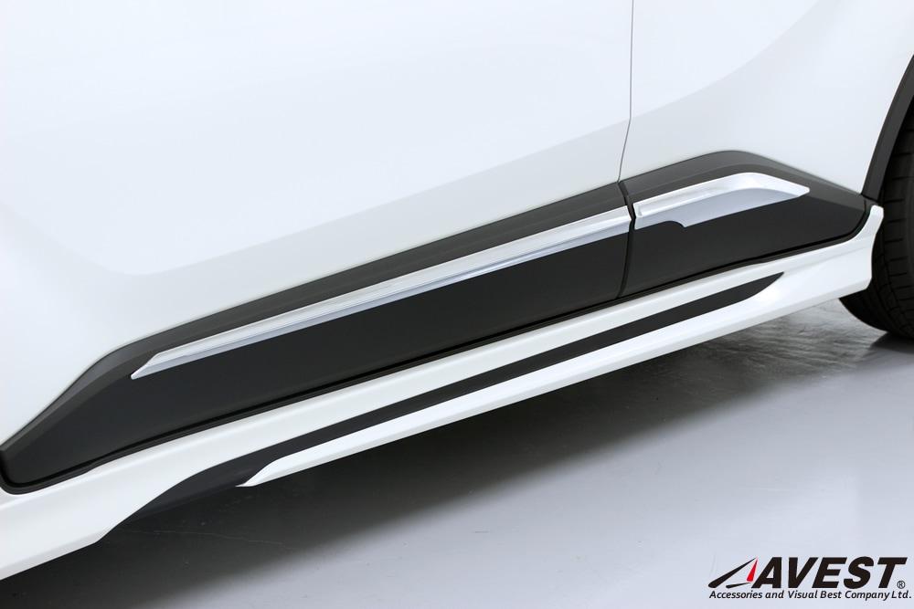 TOYOTA/C-HR/NGX50/ZYX10/サイド/ドア/ガーニッシュ/トヨタ/外装/メッキ/パーツ