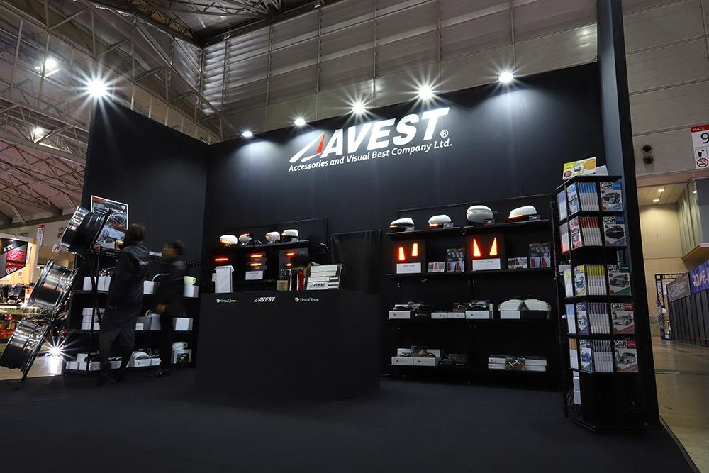 東京オートサロン2020,AVEST,ブース