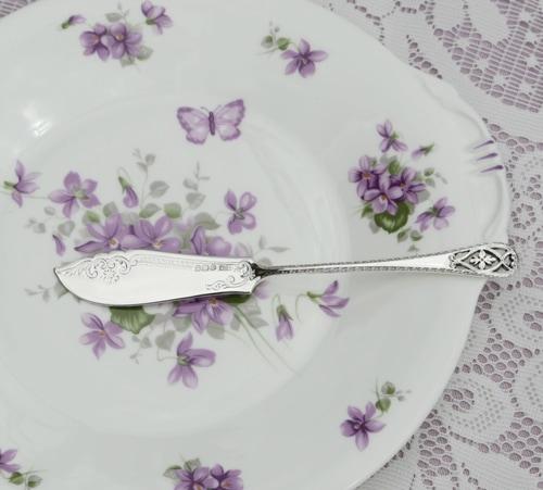 純銀製 バターナイフ 1905年