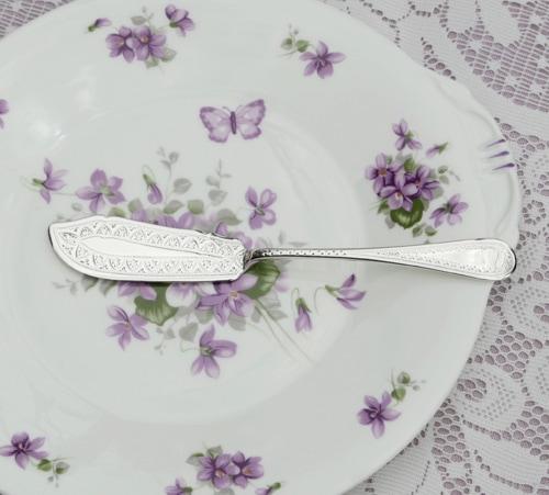 純銀製 バターナイフ