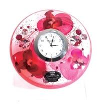 ドリームライト UFOミニ 時計セット(台付き)オーキッドダイアモンド