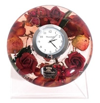 ドリームライト UFOミニ 時計セット(台付き)フラワー&フルーツ