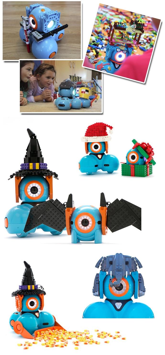 DashとLEGO(レゴ)を組み合わせると、さらに考える力や想像力が養われます