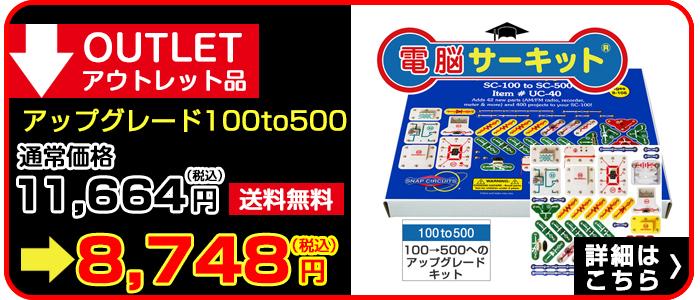 電脳サーキット100to500 アウトレット