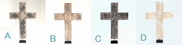 十字架/ティモール柄