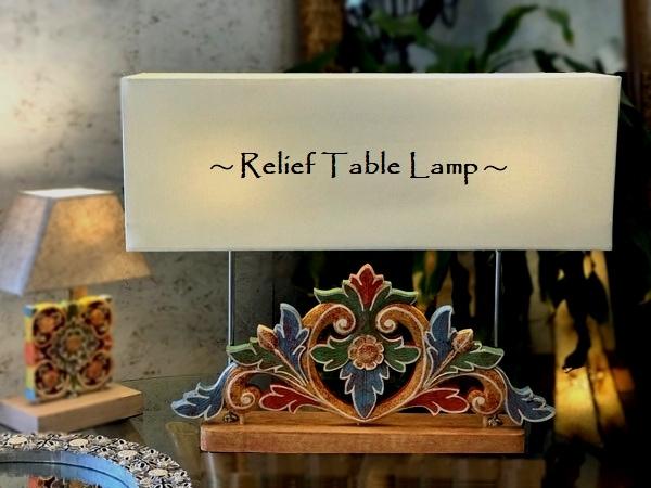 テーブルライト/テーブルランプ/リゾートインテリア/バリランプ