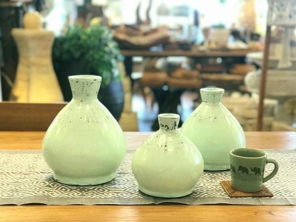 花瓶/フラワーベース/テラコッタ/BOHOインテリア