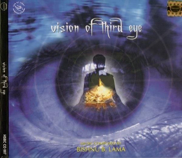 シンギングボールCD/サンタ・ラトナ・シャキア/vision of third eye