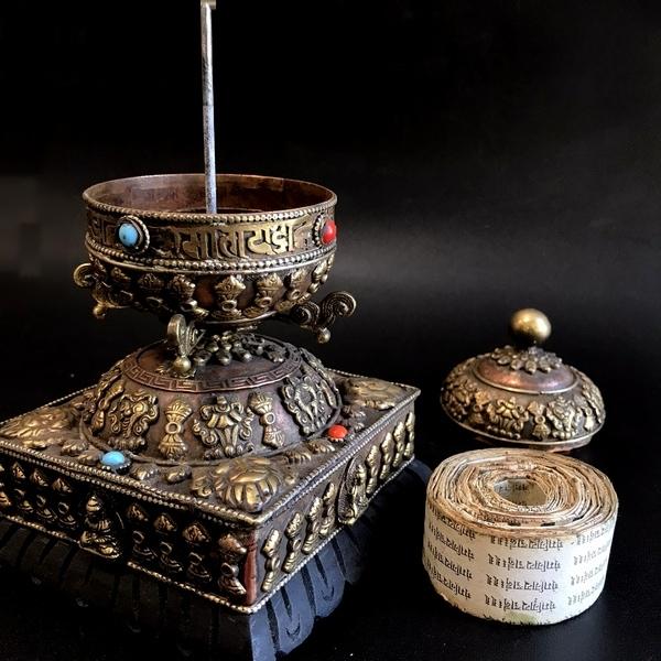 マニ車/チベット密教神具