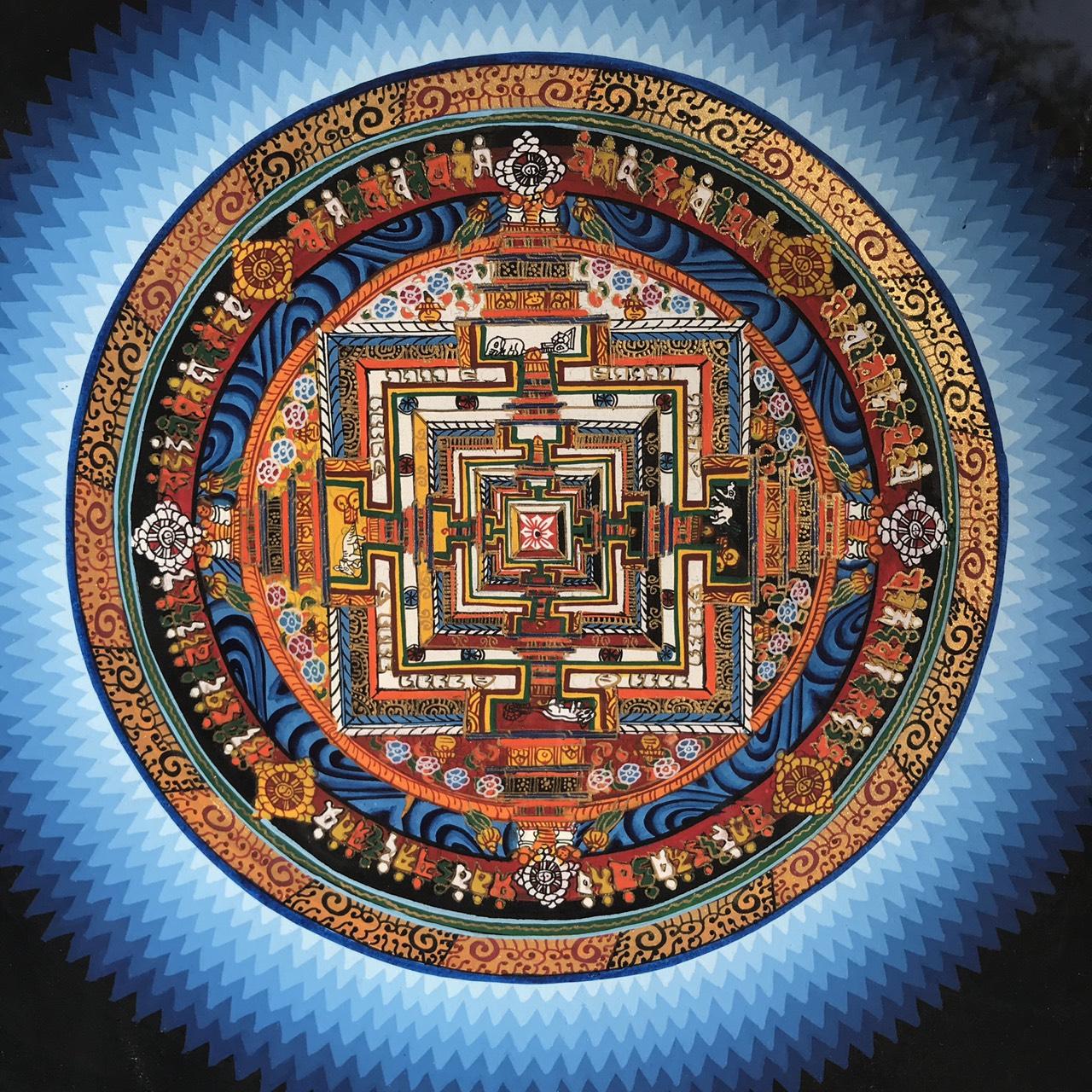曼荼羅/マンダラ/タンカ/時輪タントラ/ネパール雑貨