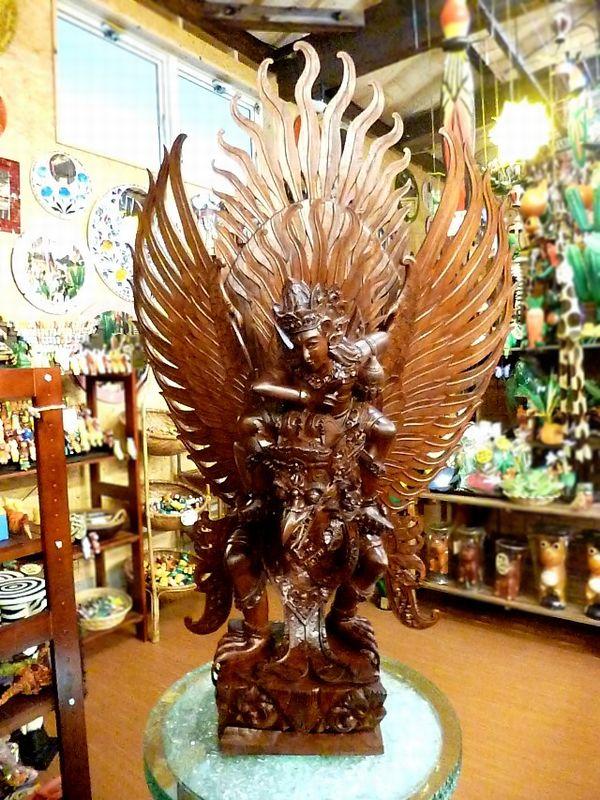 ガルーダ&ヴィシュヌ神像/ヒンドゥー教神様