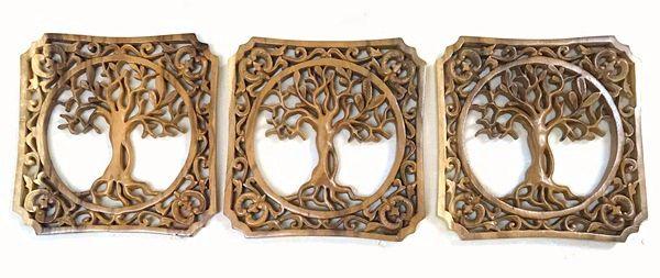レリーフ/木彫り