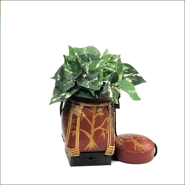 ライスボックス/米びつ/タイ・チェンマイ雑貨