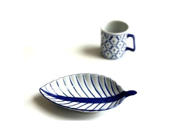ブルー&ホワイト/染めつけ食器/アジアンキッチン雑貨