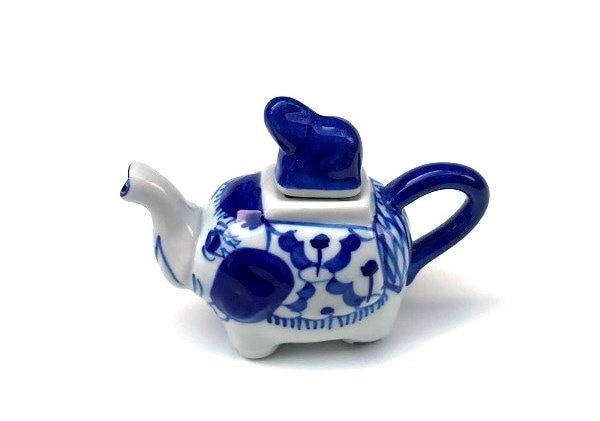 ブルー&ホワイト/染めつけ食器/醤油さし