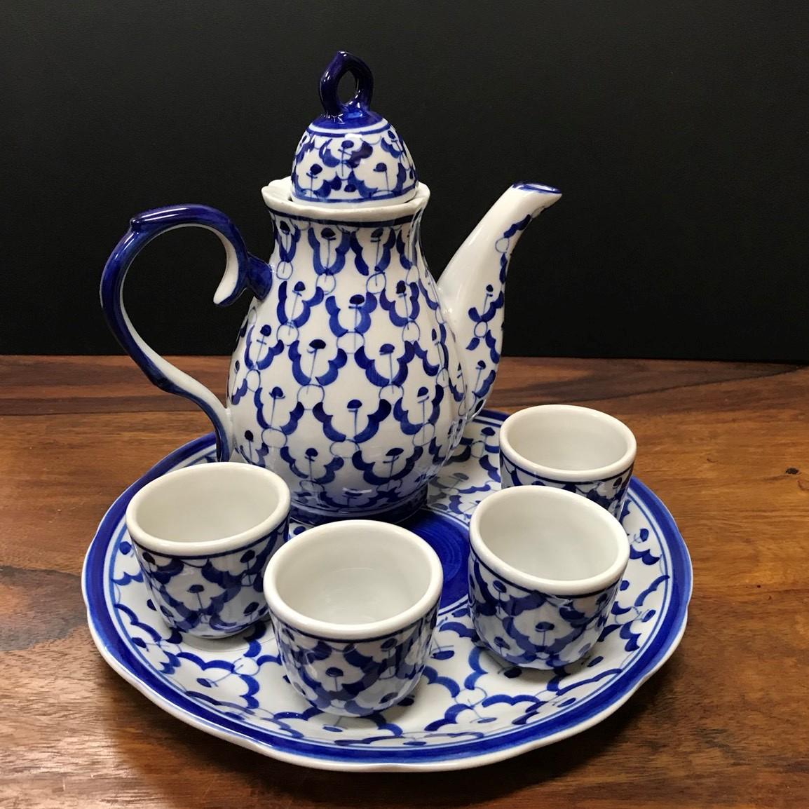 ブルー&ホワイト食器/タイ食器