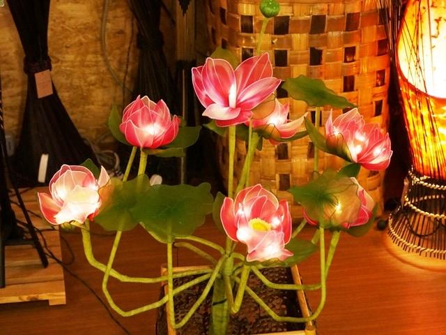 ロータスライト/蓮の花のランプ/フラワーライト