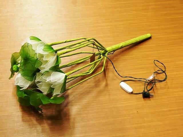 ロータスランプ/蓮の花のランプ