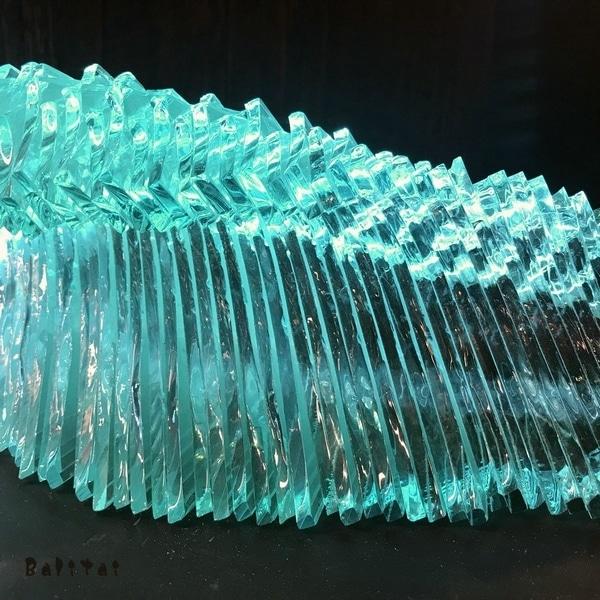 波のランプ/ガラスのウェーブランプ