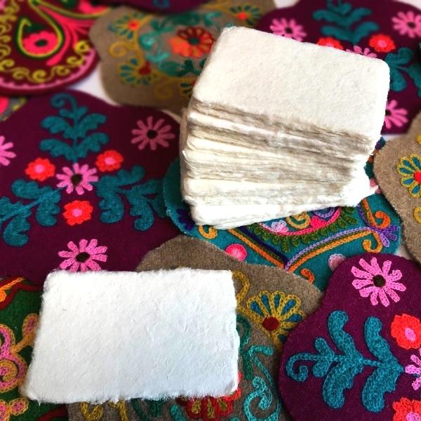 サーペーパー,名刺用紙,ネパール雑貨