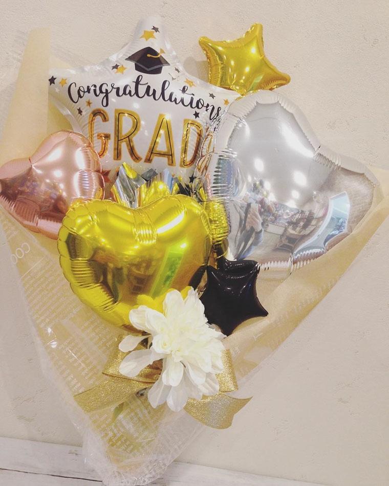 卒業式用バルーン グラッドスター
