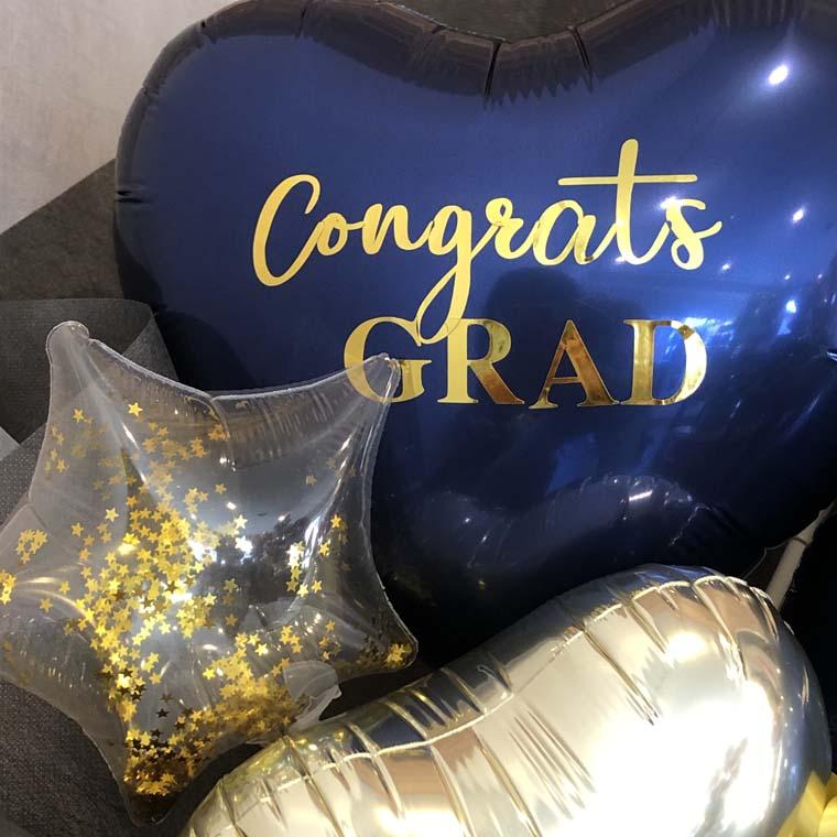 卒業祝いバルーン