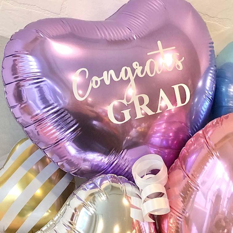 卒業祝いバルーン パステルカラー