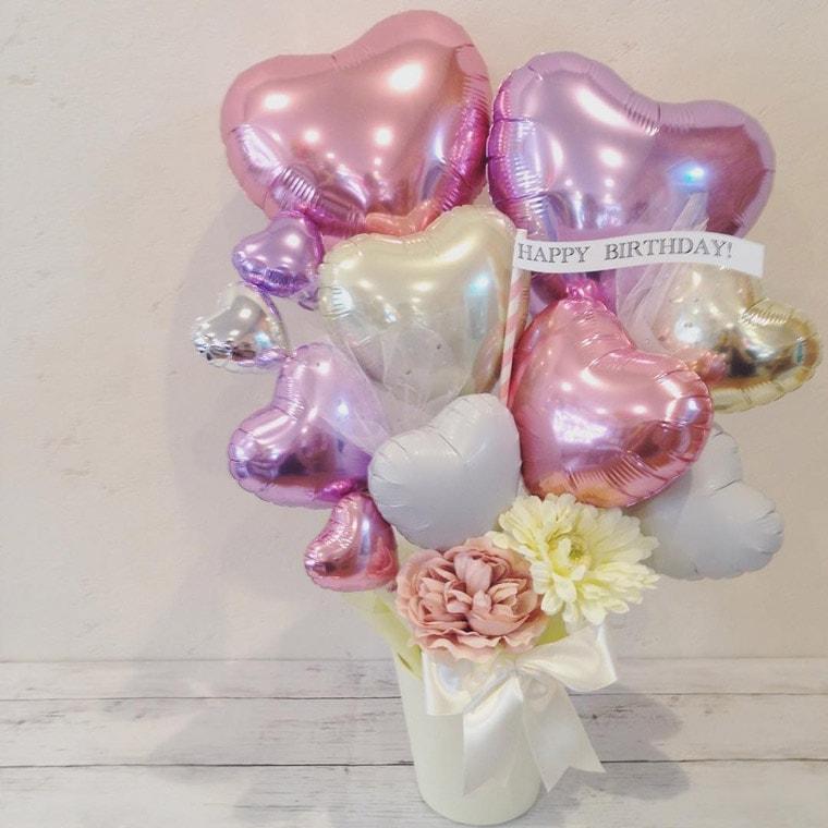 誕生日・結婚祝い・開店周年祝い置き型バルーンギフト