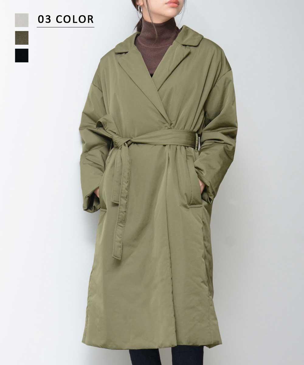 ロング中綿ジャケット