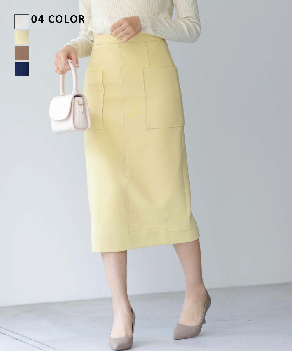 【1/12 NEW】ビッグポケットタイトスカート