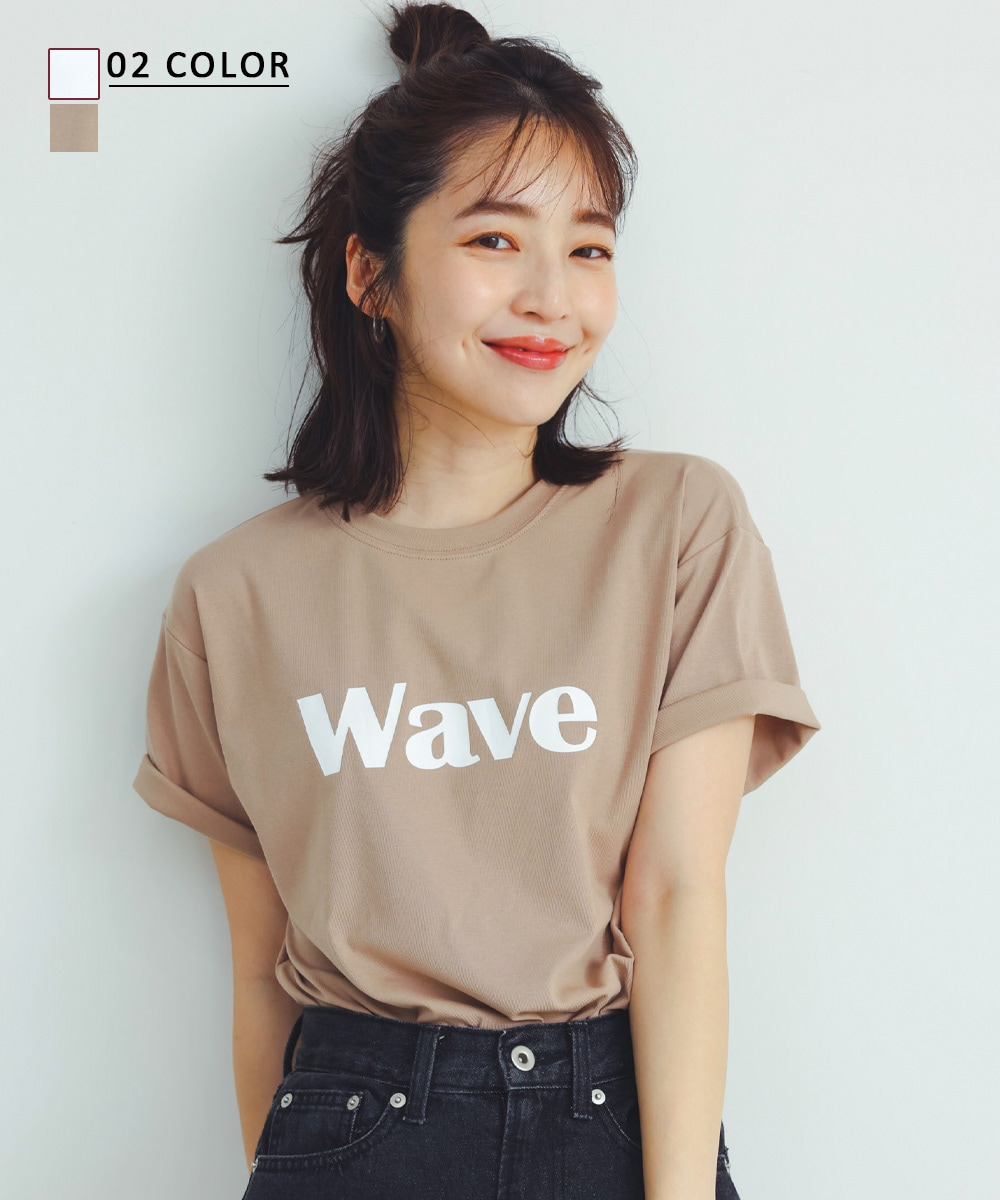 【7/9 NEW】WAVE Tシャツ