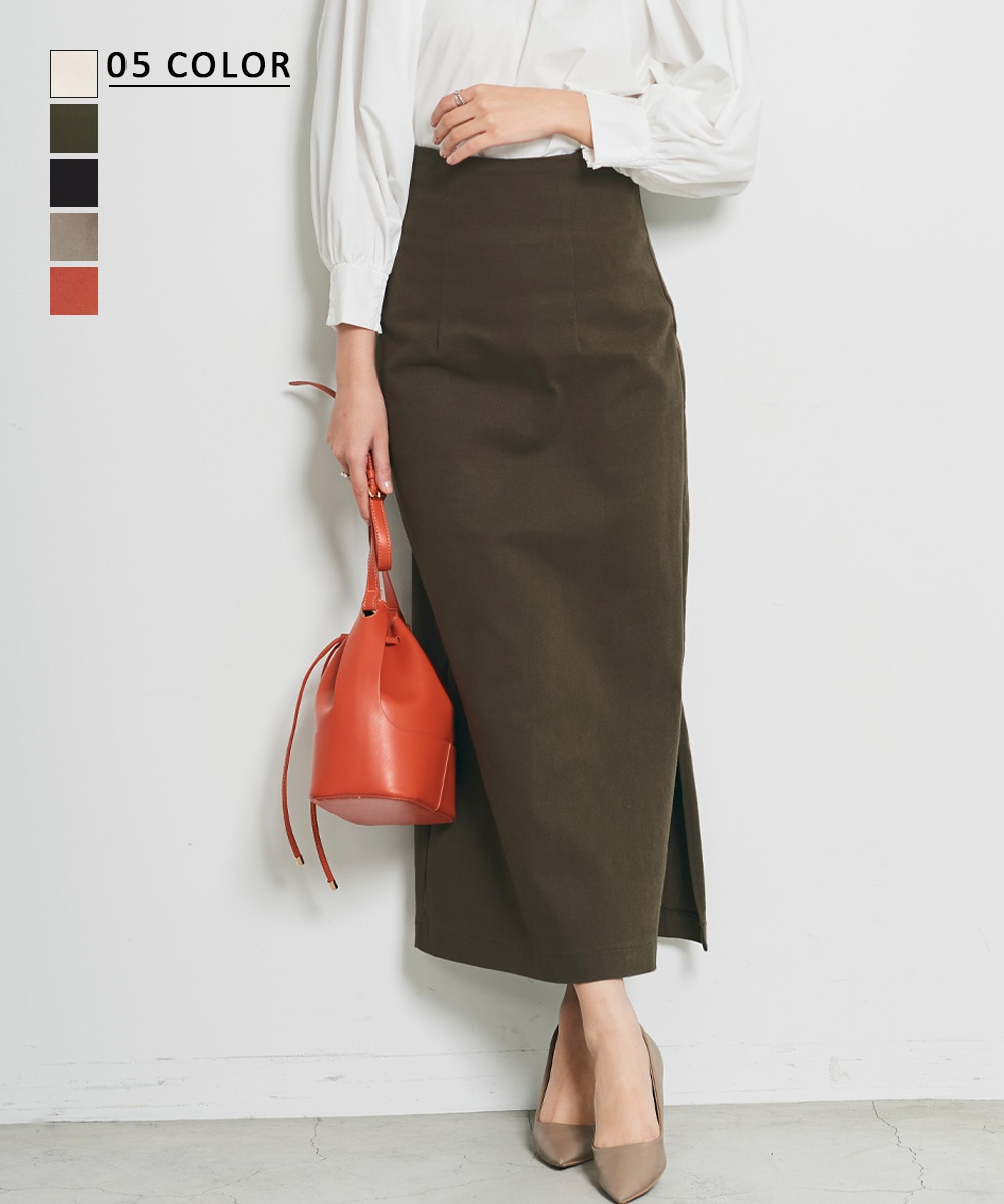 【10/22 NEW】MAAYA DESIGN ハイウエストタイトスカート