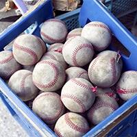 野手用のトレーニングボール