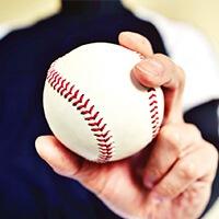 変化球を投げるための練習ボール
