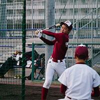 Withコロナ時代に1人捕球練習ネット!