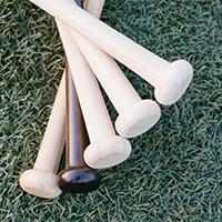 芯でとらえる練習に特化した竹バット