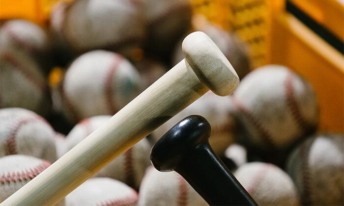 中学生の硬式野球に竹バット