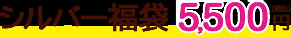 シルバー福袋 5,500円(税込)