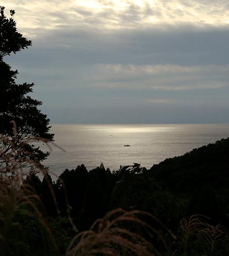 物語の舞台は鹿児島県肝付町岸良。