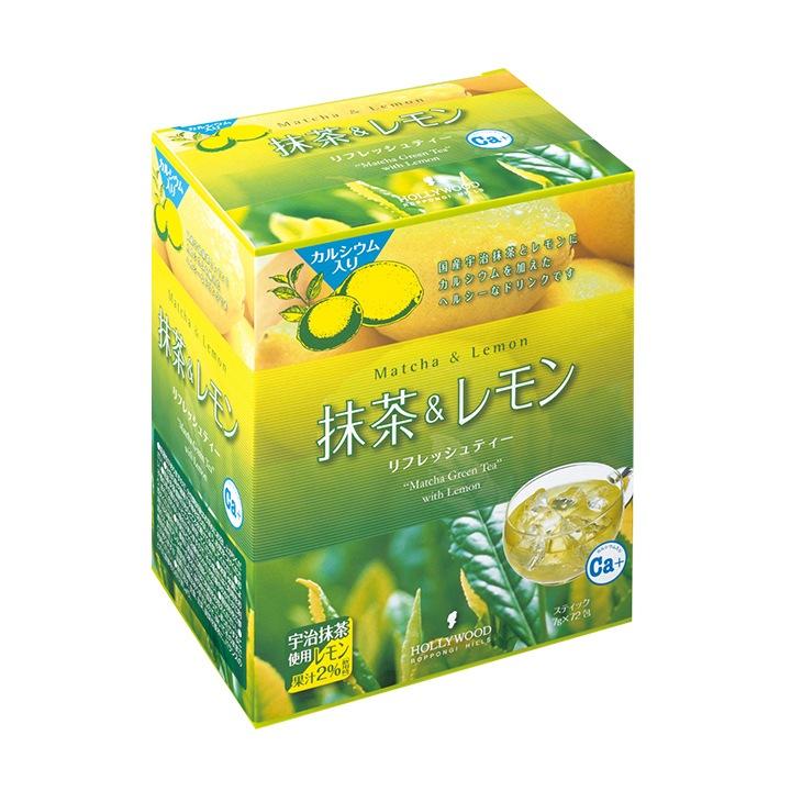 抹茶&レモン ファミリー 504g(7g×72包)