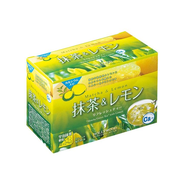 抹茶&レモン 210g(7g×30包)