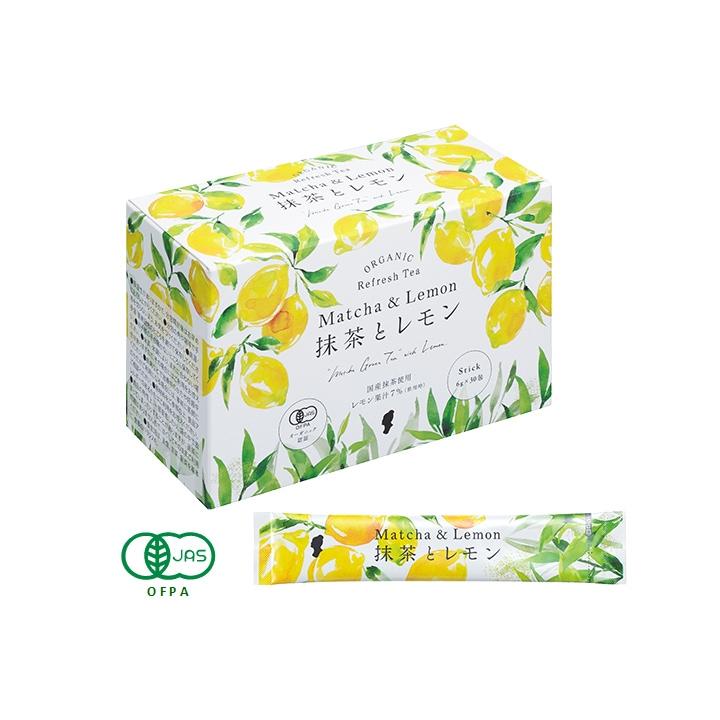 オーガニック抹茶&レモン 180g(6g×30包)