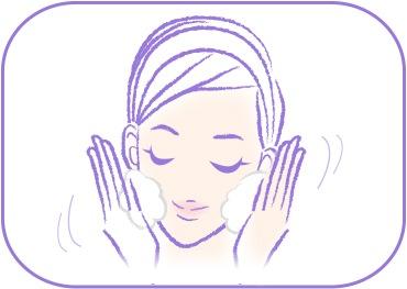 酵素洗顔パウダーのご使用方法02