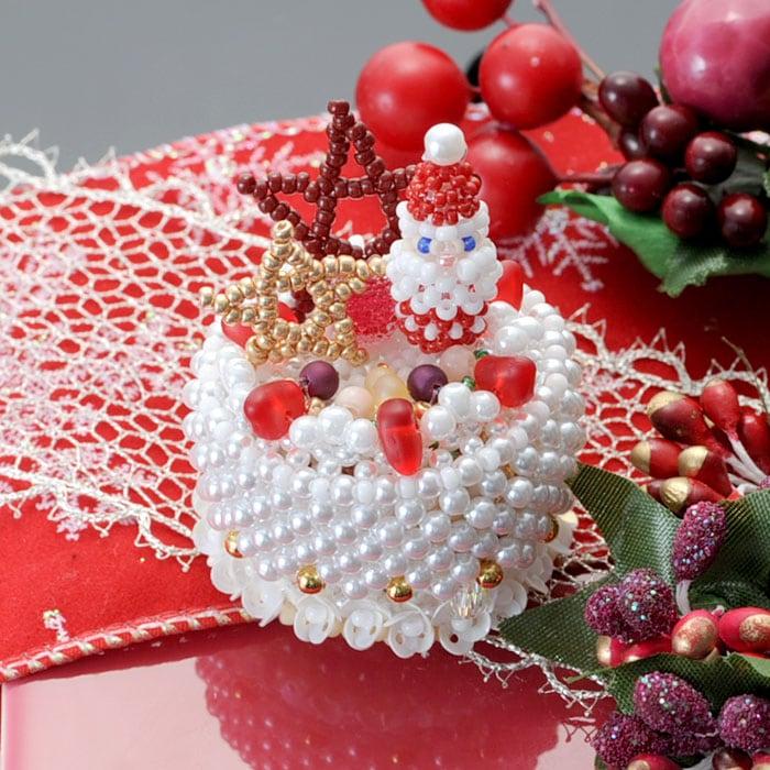【コフレ・ドゥ・ガトー】サンタクロースのクリスマスケーキ